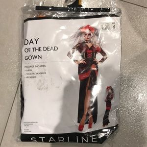 Day of the dead gown
